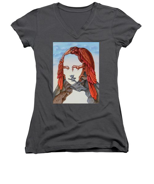 Mona Lisa. Air. Women's V-Neck