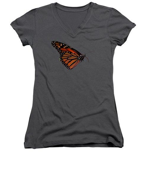 Monarch Butterfly No.41 Women's V-Neck T-Shirt