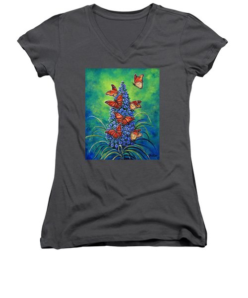 Monarch Waystation Women's V-Neck T-Shirt