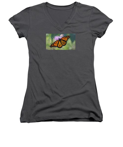 Monarch's Beauty Women's V-Neck T-Shirt