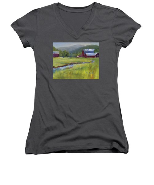 Montana Ranch Women's V-Neck