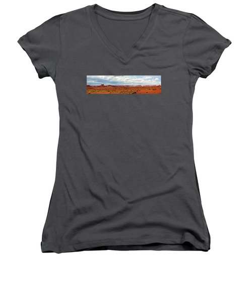 Monument Valley, Utah Women's V-Neck T-Shirt