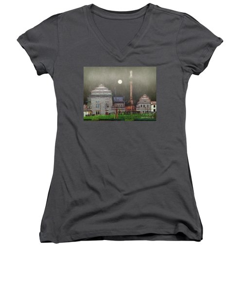 Monumental- Prague Women's V-Neck