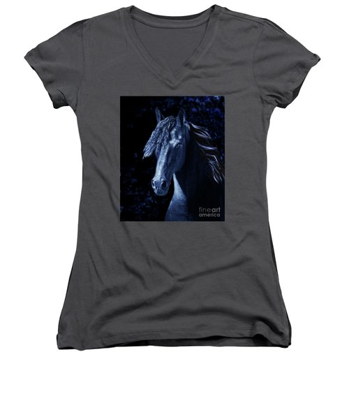 Moody Blues Women's V-Neck T-Shirt