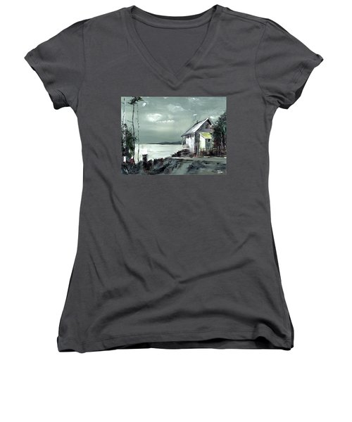 Moon Light Women's V-Neck