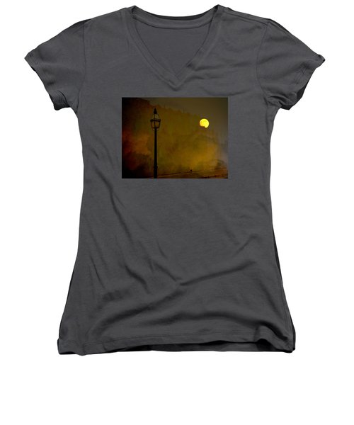 Moon Walker Women's V-Neck