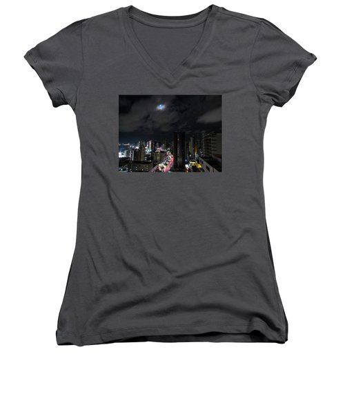 Moonlight Women's V-Neck T-Shirt