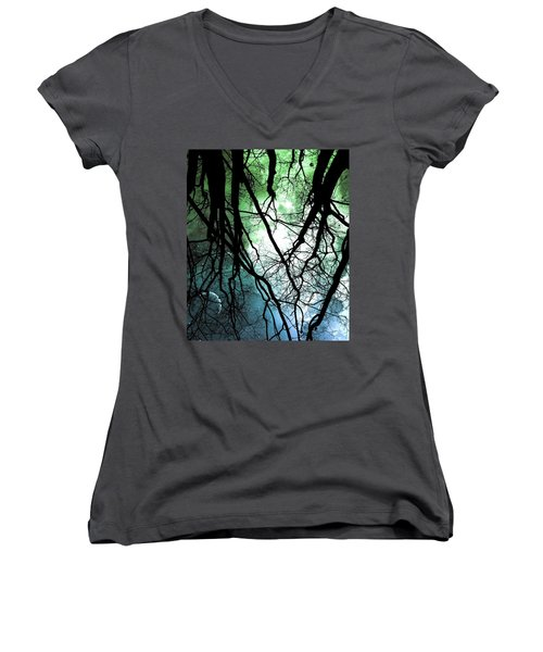 Moonlight Forest  Women's V-Neck
