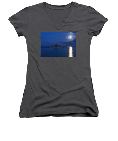 Moonlight Island Women's V-Neck