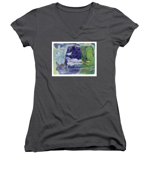 Moonlight Mountain Women's V-Neck