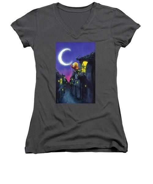 Moonthief Women's V-Neck