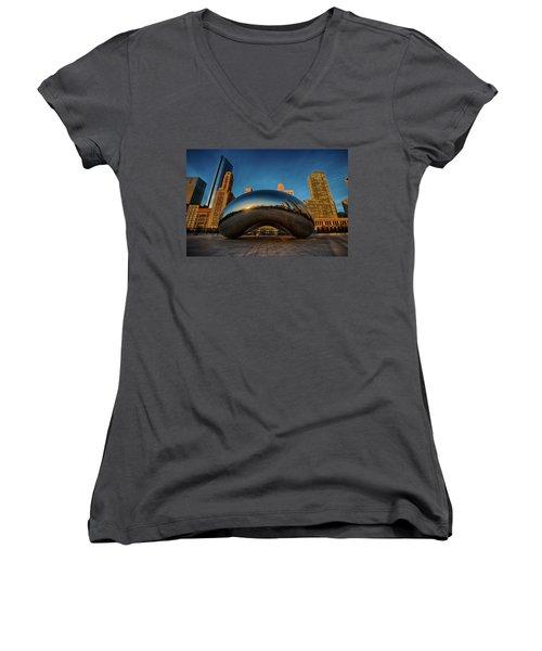 Morning Bean Women's V-Neck T-Shirt