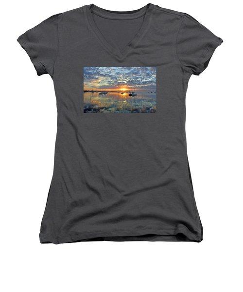 Morning Bliss Women's V-Neck T-Shirt