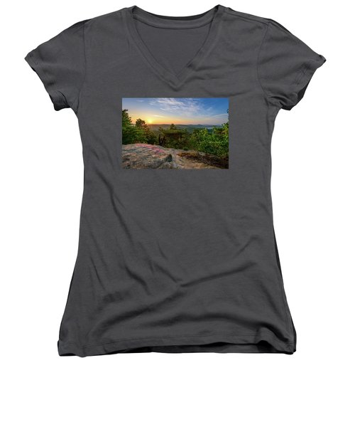 Morning Colors Women's V-Neck