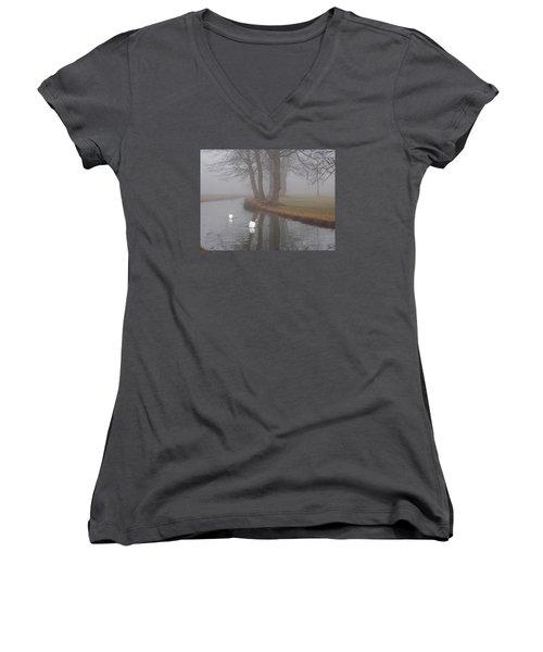 Morning Cruise Women's V-Neck T-Shirt