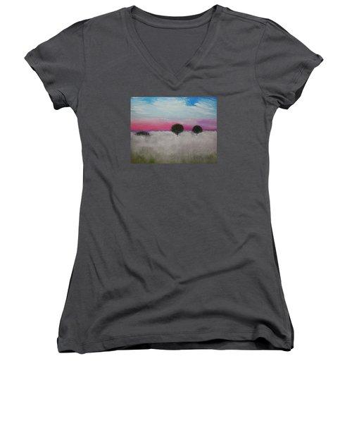 Morning Dew Women's V-Neck T-Shirt