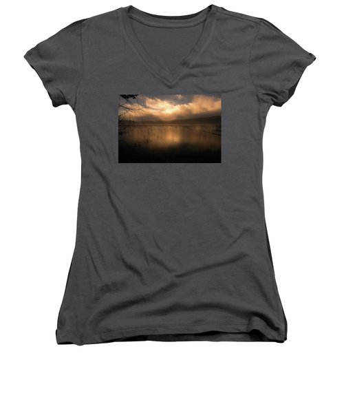 Morning Has Broken Women's V-Neck (Athletic Fit)