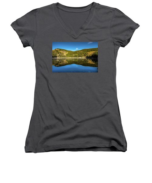 Morning Reflections Women's V-Neck (Athletic Fit)