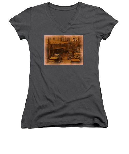 Morning Traffic Women's V-Neck