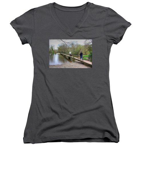 Morton Bridge Women's V-Neck