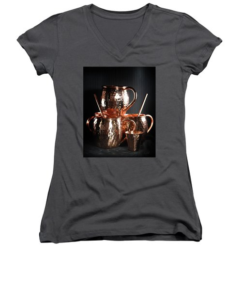 Moscow Mule Set Women's V-Neck
