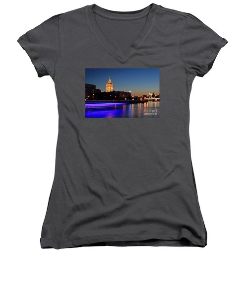 Moscow River Women's V-Neck