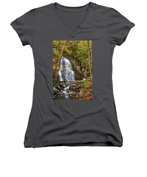 Moss Glen Falls Women's V-Neck