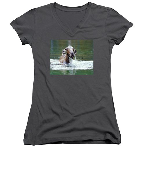 Mossy Moose Women's V-Neck (Athletic Fit)