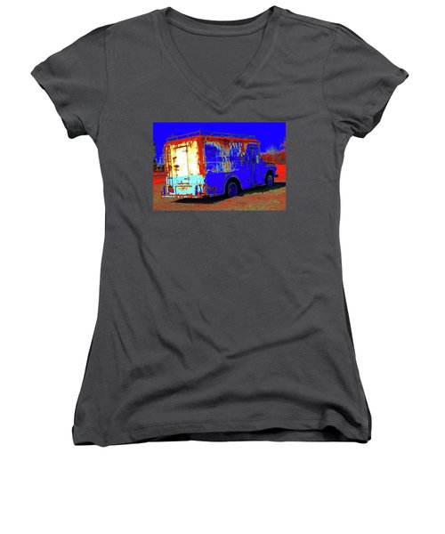 Motor City Pop #13 Women's V-Neck