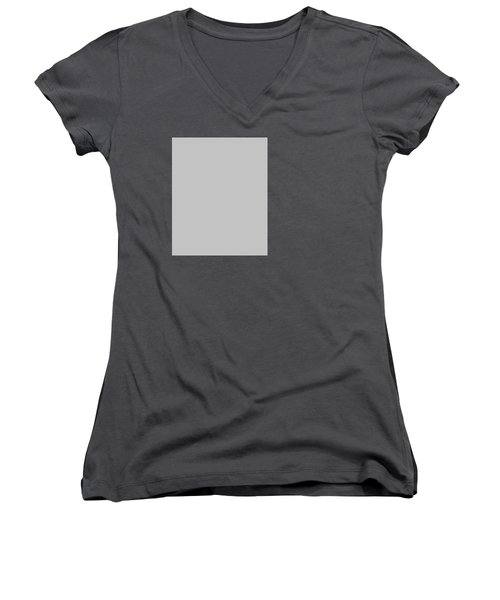 Mountain Flowers Women's V-Neck (Athletic Fit)