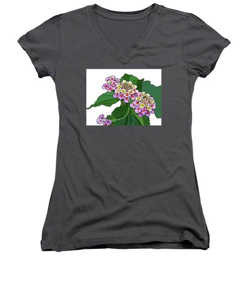 Mountain Laurel Women's V-Neck T-Shirt