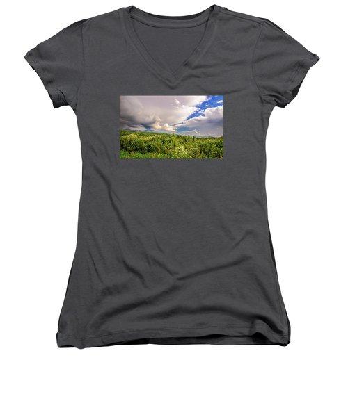 Mountain Meadow Women's V-Neck T-Shirt