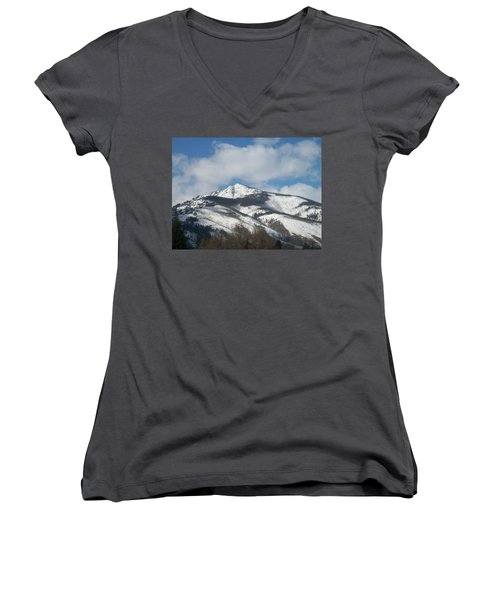Mountain Peak Women's V-Neck T-Shirt