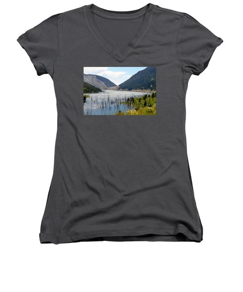Mountain River Women's V-Neck