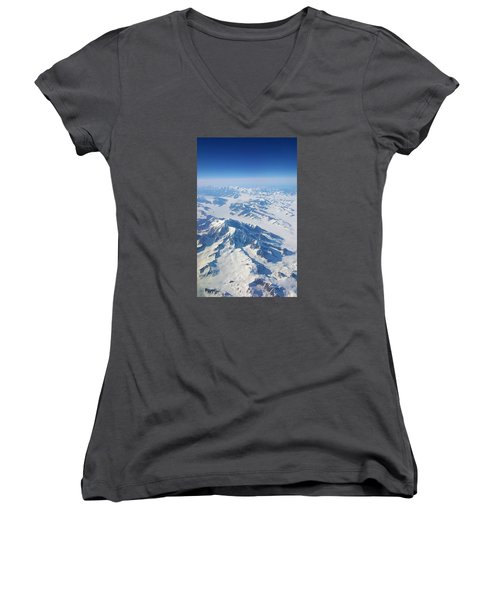 Mountain Top Women's V-Neck T-Shirt