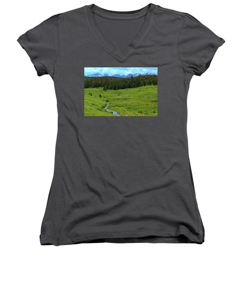 Mountain Valley Women's V-Neck (Athletic Fit)