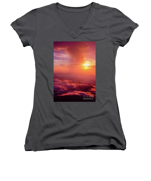 Mountain View Women's V-Neck T-Shirt