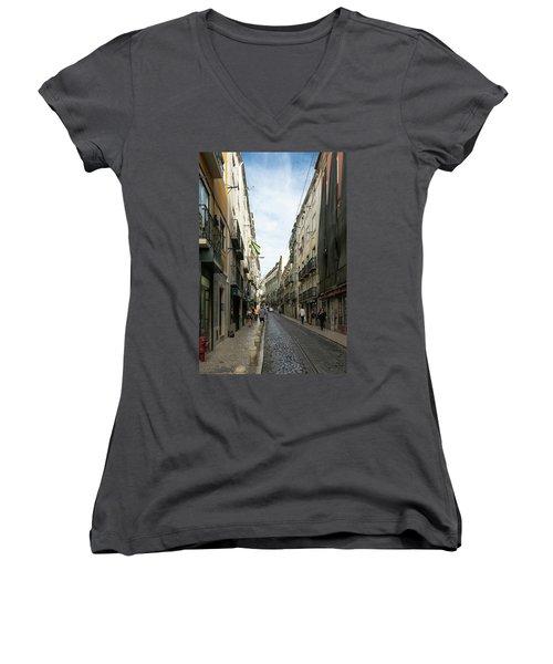 Mouraria 1 Women's V-Neck T-Shirt