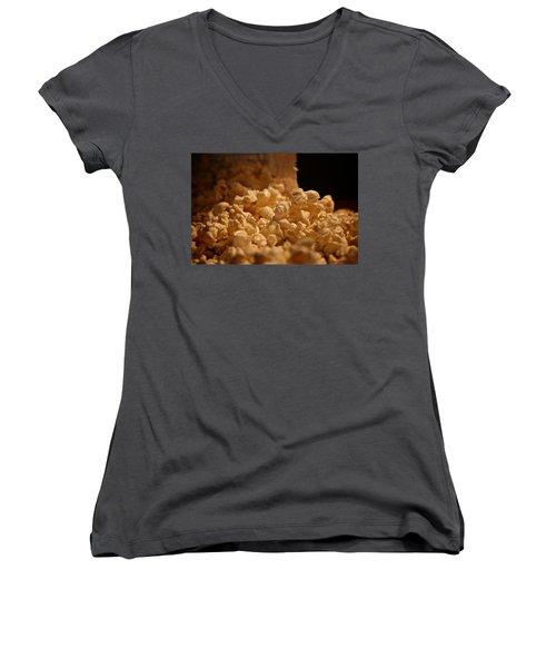 Movie Night Women's V-Neck T-Shirt