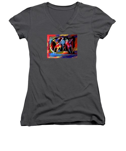 Mr Ameeba 1 Women's V-Neck T-Shirt