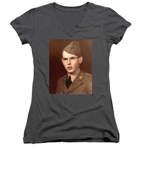 Mr. Potter Avon Hero Women's V-Neck T-Shirt