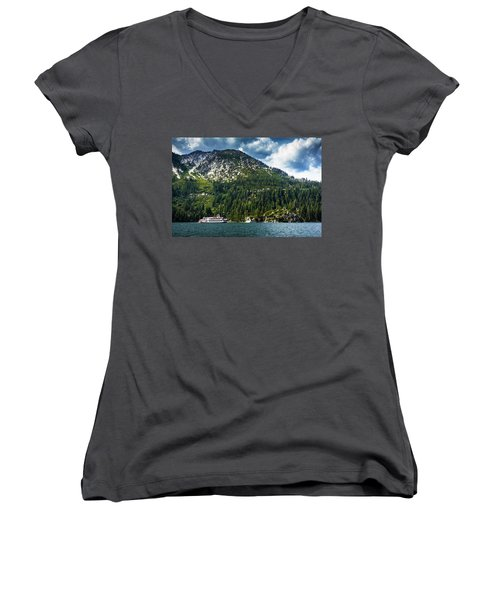 M.s. Dixie II, Lake Tahoe, Ca Women's V-Neck