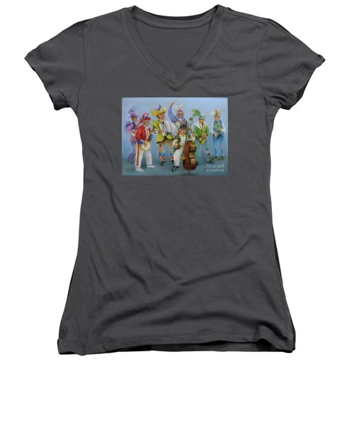 Mummers Jam Session Women's V-Neck (Athletic Fit)