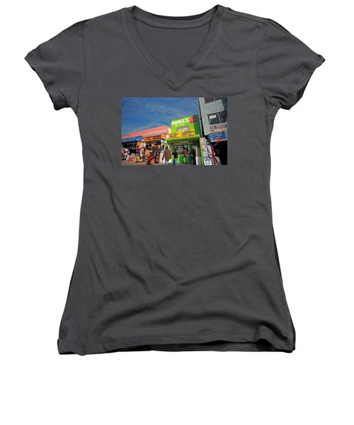 Muscle Beach Women's V-Neck (Athletic Fit)