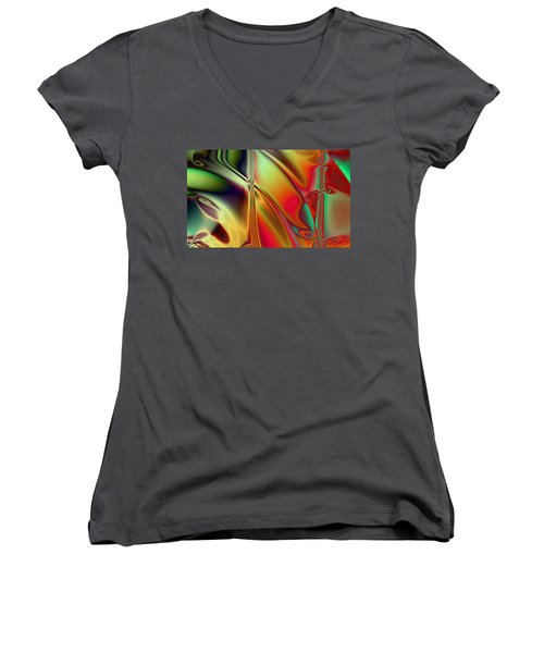 Musica Women's V-Neck T-Shirt