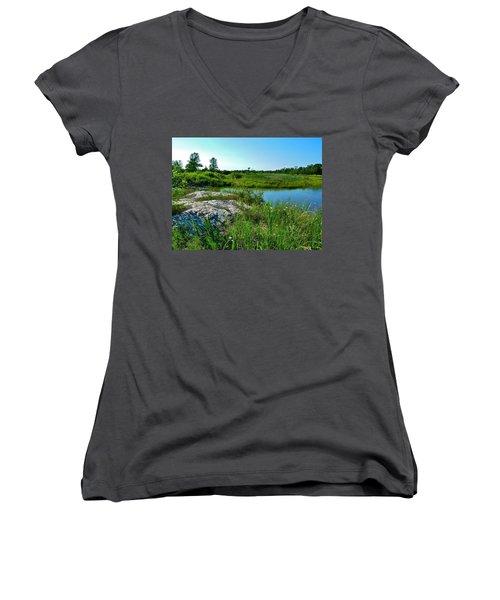 Muskoka Ontario 4 Women's V-Neck T-Shirt