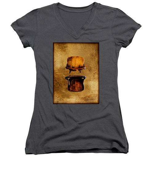 My Arms Were Around You And I Hoped That You Wouldnt Hurt Me Women's V-Neck