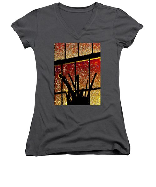 My Brushes With Inspiration Women's V-Neck