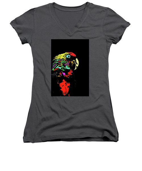 My Colorful Mccaw Women's V-Neck