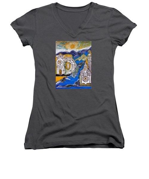 My Fantasy  Women's V-Neck T-Shirt